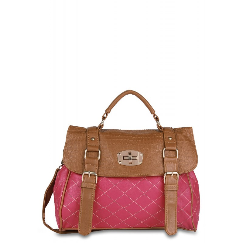 5bf0832423 Alessia Pink Hand Bag Online Shopping India MMP-162