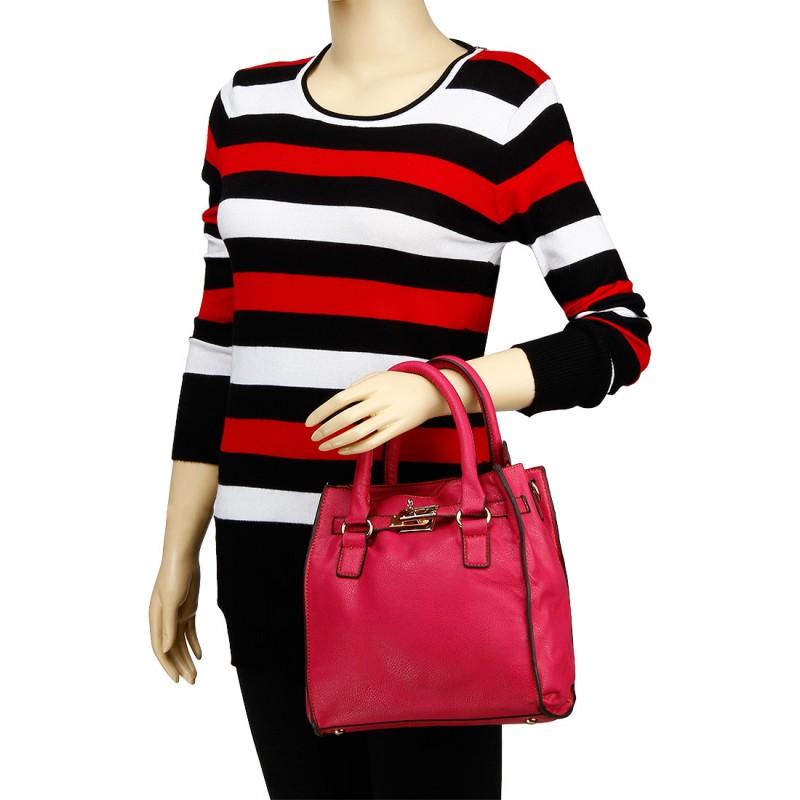 635c5ce2a6a KIARA Dark Pink Handbag Online Shopping India MMP-HB170