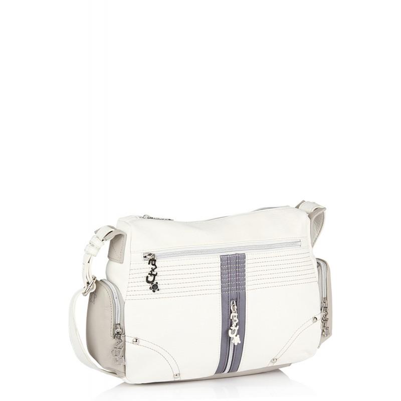 KIARA White Women Partywear Handbag Online Shopping India MMP-HB171