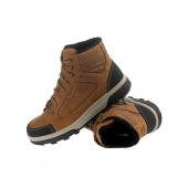 Quechua Qoni Shoes Man Brown Hiking Footwear 8157561