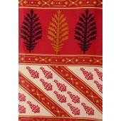 Aalya Printed Crepe Magenta/red Saree
