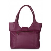 Purple colour Ladies Bag by Alessia