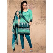 Appealing Cotton Churidar Suit