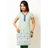 Aurelia-Poly-Viscose-Green-Kurta