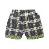 Bio Kid Green Cotton Shorts
