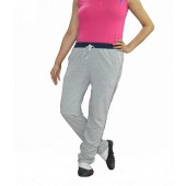 Dfh Gray Women Track Pants