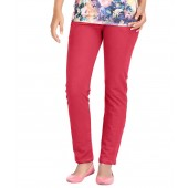 Hbhwear Red Women Denim Track Pants