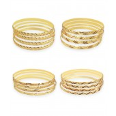 Hi Look Elegant Gold Plated Bangles