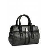 A grey coloured handbag by Kiara for women