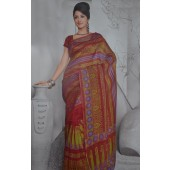 Mahroon and multi color sarees