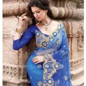 Net Material Designer Saree