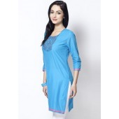 Sangria-Chawal-Tanka-Embroidered-Blue-Kurta