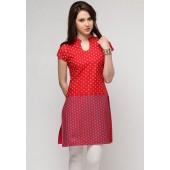 Sangria-Motif-Printed-Red-Kurta
