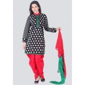 A black coloured suit set for women by Sareez.
