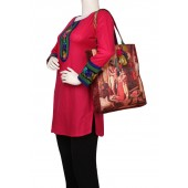 Multicoloured bag for women from House of Tara.