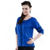 Unique Fashion Royal Blue Top