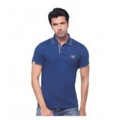 Vsquared2 Polo Cotton T-shirt-navy