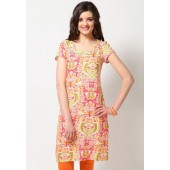 W-Cotton-Printed-Off-White-Kurta