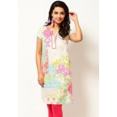 W-Cotton-Printed-White-Kurta